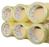 Klebeband Packband Paketklebeband für Abroller Transparent Paketband 36 Rollen