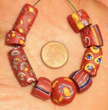 Perle Verre Ancien Afrique Murano Troc Antique African Venetian Glass Trade Bead