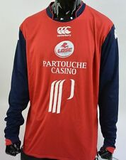 2008-2009  Canterbury Lille LOSC Home Football Jersey Long Sleeve SIZE XL adults
