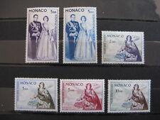 MONACO neufs  avions n° 73 à 78 (1960-61)