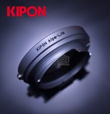 Kipon Adapter for Alpa 50mm Mount Lens to Leica M Rangefinder Camera RF Coupled