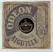 78T Fred GOUIN Disque Phonographe VILLE D'AMOUR Films Chanté ODEON 166487 RARE