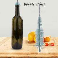 Fine-mouth Beer Cleaner Long Nylon Brush Winemaking Wine Bottle Washer Cleaning