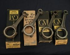 NOS 53-55 CORVETTE 53-63 Chevy Car, Truck (235)  FOUR Connecting Rods GM 3836669