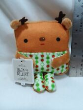2015 Hallmark Reindeer Tuck A Bellies Plush holds gift cards, small gifts