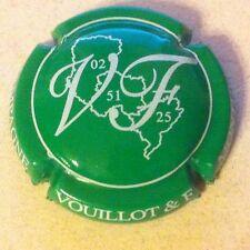 Capsule de champagne VOUILLOT et Fils (9. vert et blanc)