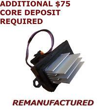 OEM REMAN HUMMER H2 Heater Blower Motor Fan Resistor Control Module Exchange