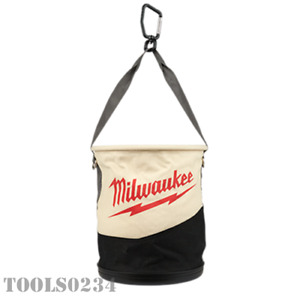 Milwaukee® Tools 48-22-8270 Canvas Utility Bucket - No. 6 Canvas - Rated to 75#