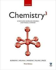 Chemistry3: Introducing Inorganic, Organic and Physical Chemistry by Gareth...