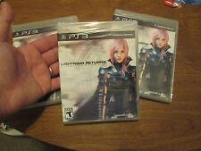 Lightning Returns: Final Fantasy XIII PS3 Sony PlayStation 3 NEW FACTORY SEALED