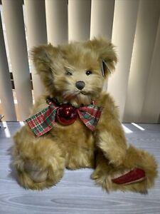 Bearington Collection - Limited Edition Musical Christmas Bear- 2016 Retired