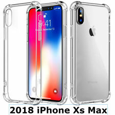 For iPhone XS MAX Clear Transparent Shockproof Protective Case Cover HD Crystal