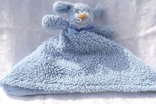 Blankets and Beyond Dog Blue Sherpa Plush Security Blanket NWT