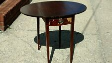 Antique table folds end fine arts grand by furn co rapids