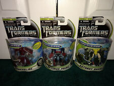 Optimus Prime Powerglide Guzzle Commander Class DOTM Transformers Hasbro MISP!