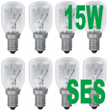 Pygmy 15w light bulbs salt lamp replacement bulbs SES - E14 (Pack of 10)