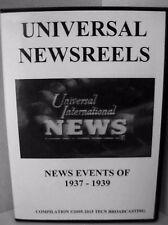 UNIVERSAL NEWSREELS 1937 - 1939 (DVD)