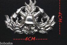 Insigne de casquette (fixation à lamelles) Sapeur Pompier Allemand