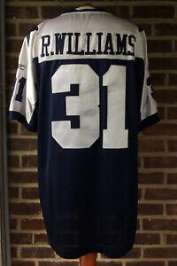Reebok Throwback Dallas Cowboys Ricky Williams Stitched Jersey Size 52/XL