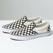 f5727317d29 VANS Old School SKATE Punk CHECKERBOARD CHECKER SLIP ONS New In Box US 10  UK 9