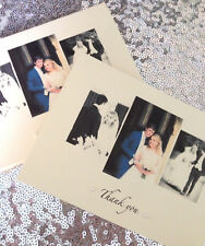 Wedding thank you cards with photo x 20 xx