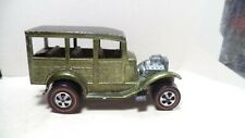Vintage Hot Wheels Red Lines USA 1969 Classic '31 Ford Woody [Olive]