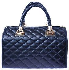 Handbag Bag Italian Genuine Leather Hand made in Italy Florence 7003 bk