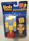 2001 Hasbro Playskool Bob The Builder Jackhammering Bob Figure Bob's Yard Play