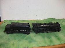 Lionel  O  Gauge  2-6-4  Steam Engine # 2026 with Tender # 2666T   Lot # MD.