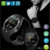 Y1 SMARTWATCH SIM CARD ANDROID IOS BLUETOOTH CAMERA NFC MONTRE intelligente