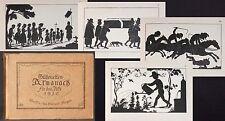 (POCCI) Silhouetten-Almanach für das Jahr 1910 Schattenrisse Scherenschnitte