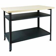 Werkbank Werktisch Montagewerkbank Werkstatttisch Stahl 120 x 85 x 60 cm V2Aox
