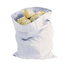 5pk Large Heavy Duty Rubble Sacks Pack Woven Bags Garden Bin Waste Refuse