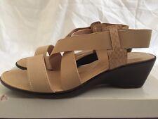 93647c2c5 Lotus Women s Clarence Elasticated HEELS Sandals Beige UK 6   EU 39