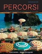 Percorsi: L'Italia attraverso la lingua e la cultura (2nd Edition) (MyItalianLab