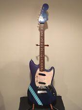 1969 Fender Competition Mustang Burgundy/Blue Guitar w/Original Case