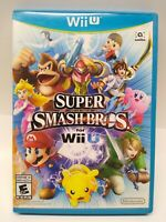 Amazing Super Smash Bros for Wii U - complete - no scratches, free shipping
