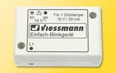 Viessmann 5035 Spur N Einfach-Blinkgerät mit blauen Glühlampe #NEU in OVP#