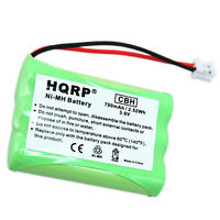 HQRP Battery for VTech i6717 i6725 i6727 i6757 i6763 i6765 Cordless Phone