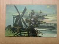 Windmill 1904 Country Scene Raphael Tuck Connoisseur Art Vintage Postcard