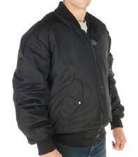Flight Jacket Black Bulletproof Vest Ballistic Protection Level 3A Size XL