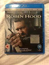 Robin Hood (Blu-ray, 2010, 2-Disc Set) Directors Cut