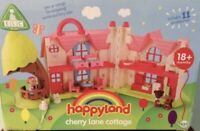 ELC HappyLand Cherry Lane Cottage with Furniture Play Set