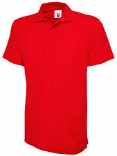 Mens Polo Shirt Size XS - 5XL Pique Sports Casual Work T-Shirt Ultra Cool 200gsm