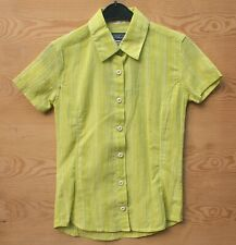 Patagonia Womens A/C S/S SHIRT Super Lightweight Womens Blouse Size XS Green
