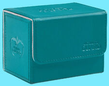 ULTIMATE GUARD XENOSKIN PETROL SIDEWINDER 80+ DECK CASE Side Loading Card Box