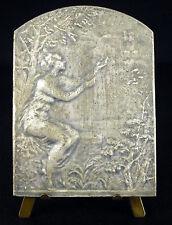 Médaille les coeurs belges vibrent à l'unisson P Theunis Belgique Belgium c1920