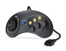 Sega Mega Drive & Master System 6 botón lucha Controlador Gamepad Joystick