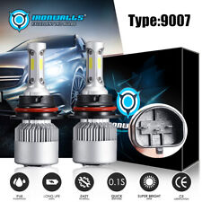 9007 LED Headlight Bulb 6000k for Dodge Ram 1500 2500 3500 2003-2005 Hi-Low Beam