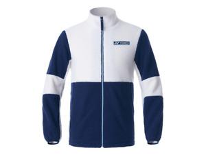 Yonex Men's Fleece Jacket Badminton Winter Apparel Ivory Training Wear 203JJ001M